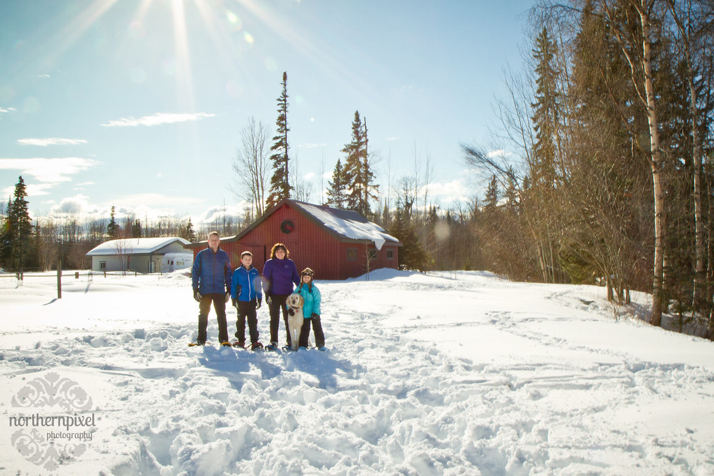 Winter Family Photos - Prince George BC