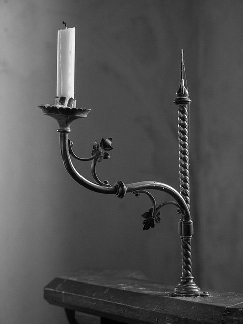 Candelabra in South Stoke Church