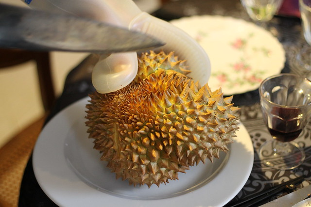 Opening the Durian
