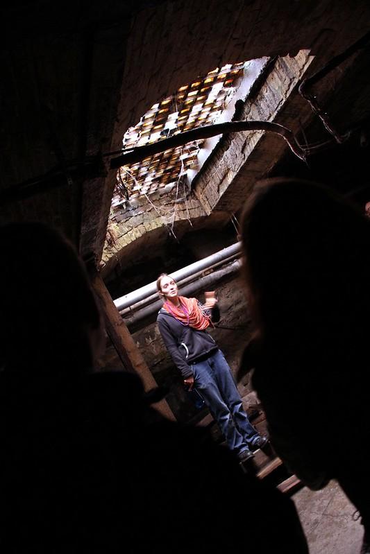 Guide Allie from Bill Spiedel's Underground Tour in Seattle