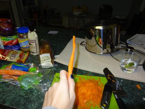 Expeliarmus! Fun with vegetable peelers.
