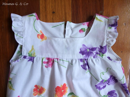 Frilly Sleeves Dress (4)