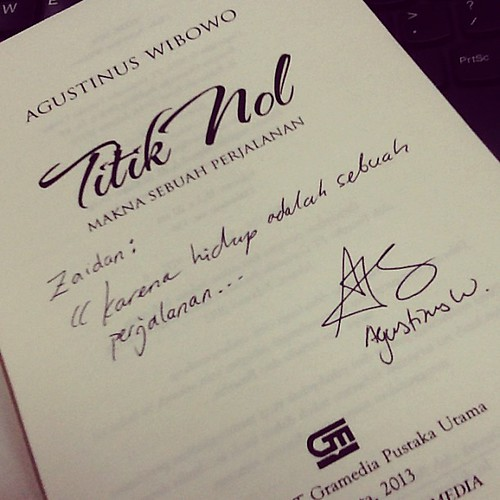 Pesan sebuah buku. Terima kasih @sastrapertala !