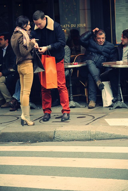 Streetstyle of le Paris