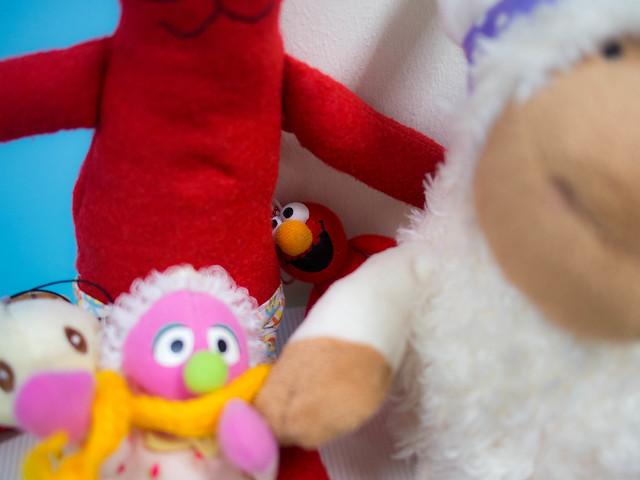 Hidden Spaz Elmo