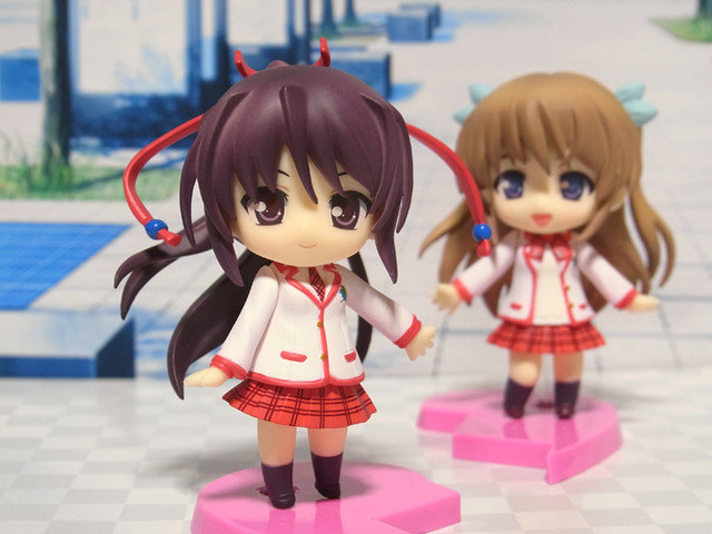 Nendoroid Petite Sakuraba Tamamo and Shirasaki Tsugumi