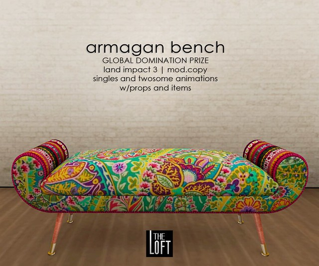 The Loft - Armagan Bench
