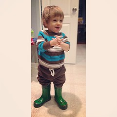 Cutie pie.  #frogieboots #whitagram