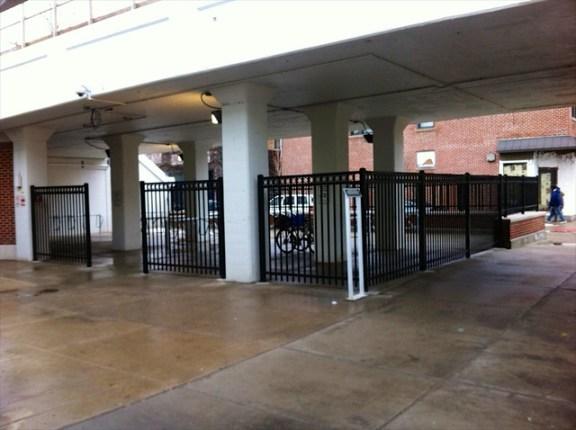 New bike parking at Morse CTA station