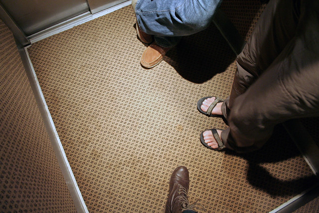 elevator feet