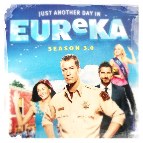 The last #Eureka DVD we bought. Awwww, @officialedquinn! :)