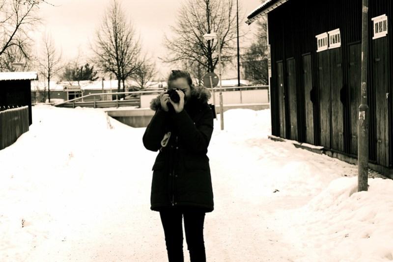 Amanda i snön