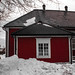 Finland - Porvoo in red