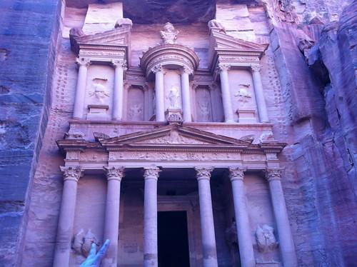 The Treasury, or Al Khazneh in Petra, Jordan (February 2013)