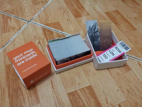 Moo UK minicards