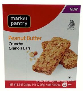 Market Pantry Peanut Butter Crunchy Granola Bars
