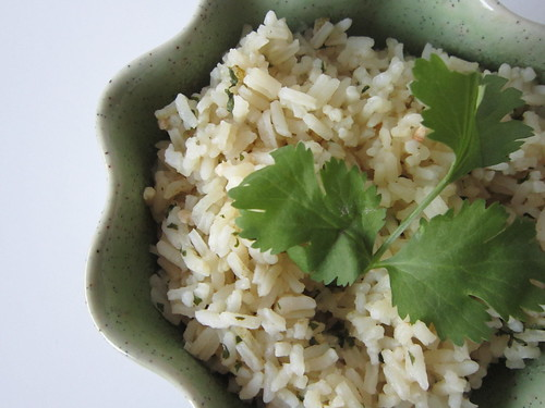 Mexican Green Cilantro Rice
