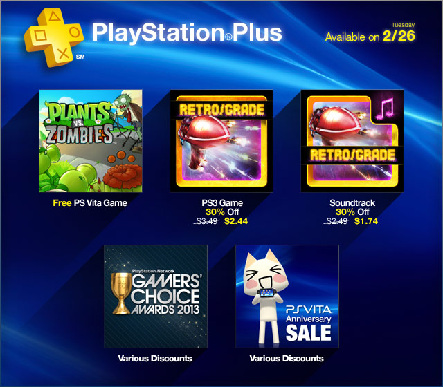 PlayStation Store Update 2-26-2013