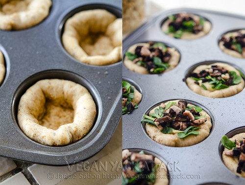 These delectable Mini Pizza Pies are not only adorable, but fun to make and vegan! They serve as a great appetizer, and are very kid-friendly.