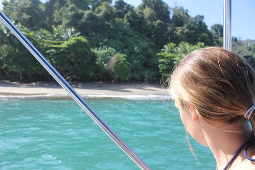 El agua turquesa de Isla del Caño.