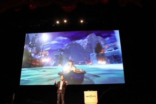 Disney Infinity unveil event at El Capitan Theatre
