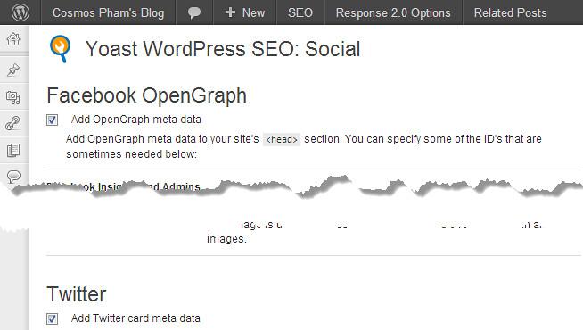 Cách thêm Open Graph vào Blog WordPress