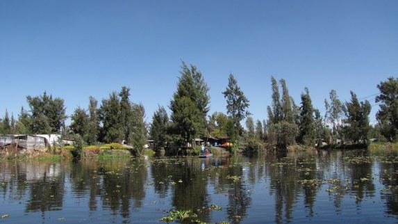 Chinampera-Xochimilco, Humedales