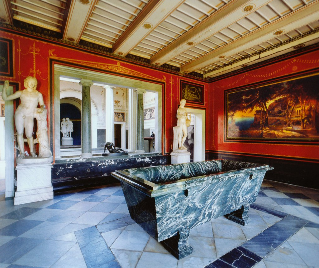 Potsdam Sanssouci R 246 Mische B 228 Der Atrium Roman Baths A