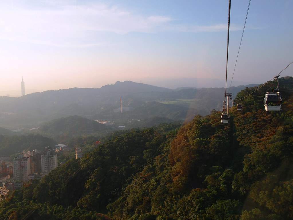 maokong gondola + yangmingshan