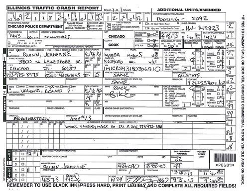 Valenta - Illinois Traffic Crash Report