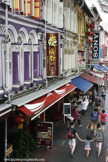 Kreta Ayer Chinatown Singapore