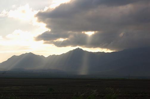 Waianae clouds
