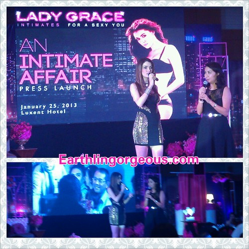 Lady Grace An Intimate Affair Press Launch