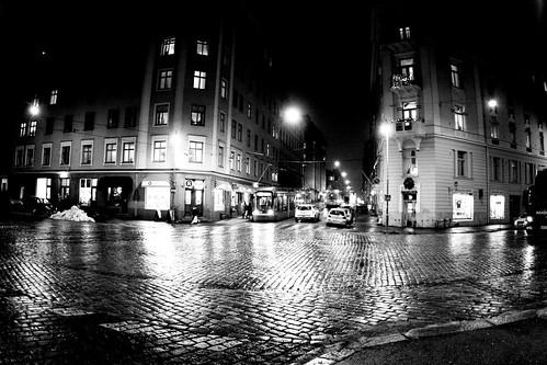 Night tram by JO_Wass