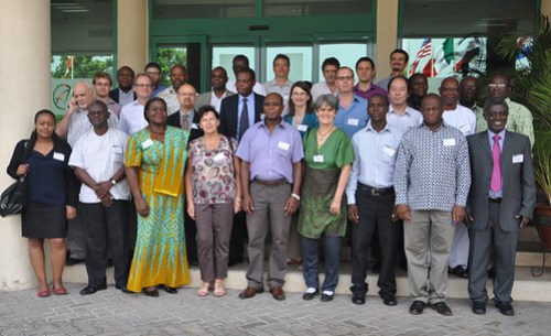 Africa RISING West Africa Stakeholder meeting group (credit: IITA/K. Lopez)