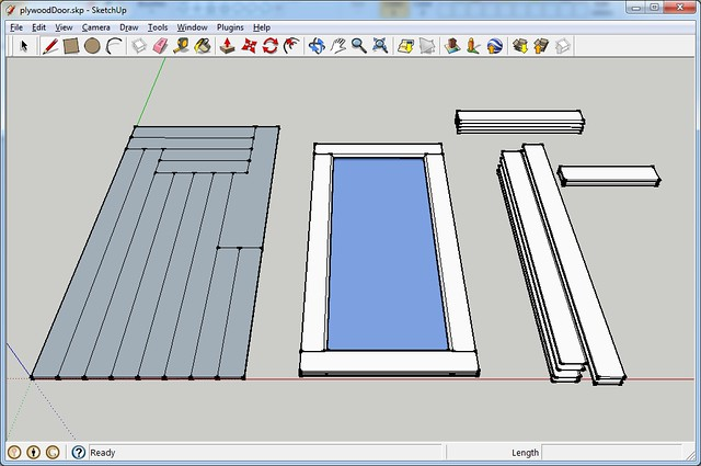Plywood Door Layout