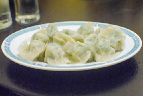 shrimp leek dumplings