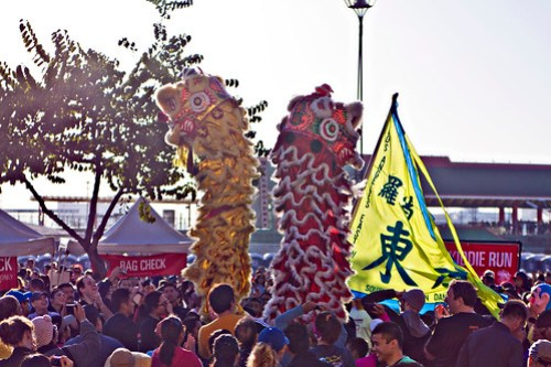 Chinatown Dragon Dance
