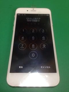 177_iPhone6のフロントパネル液晶割れ