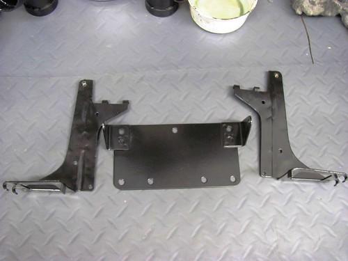 Powder Coat - Battery & License Plate Brakets