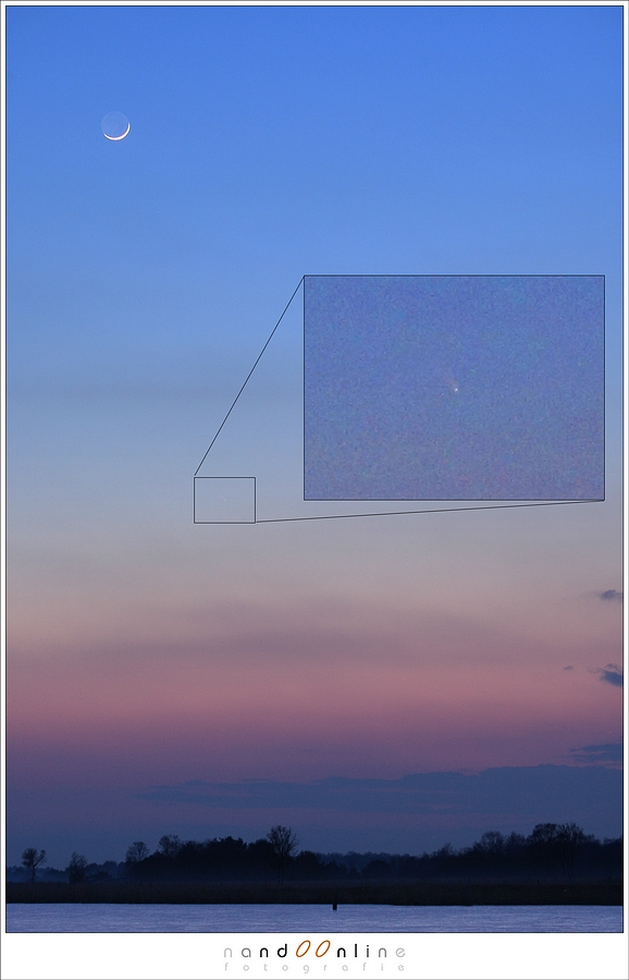 De komeet C/2011 L4 Panstarrs