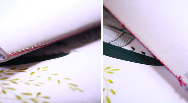 detail diy notebook