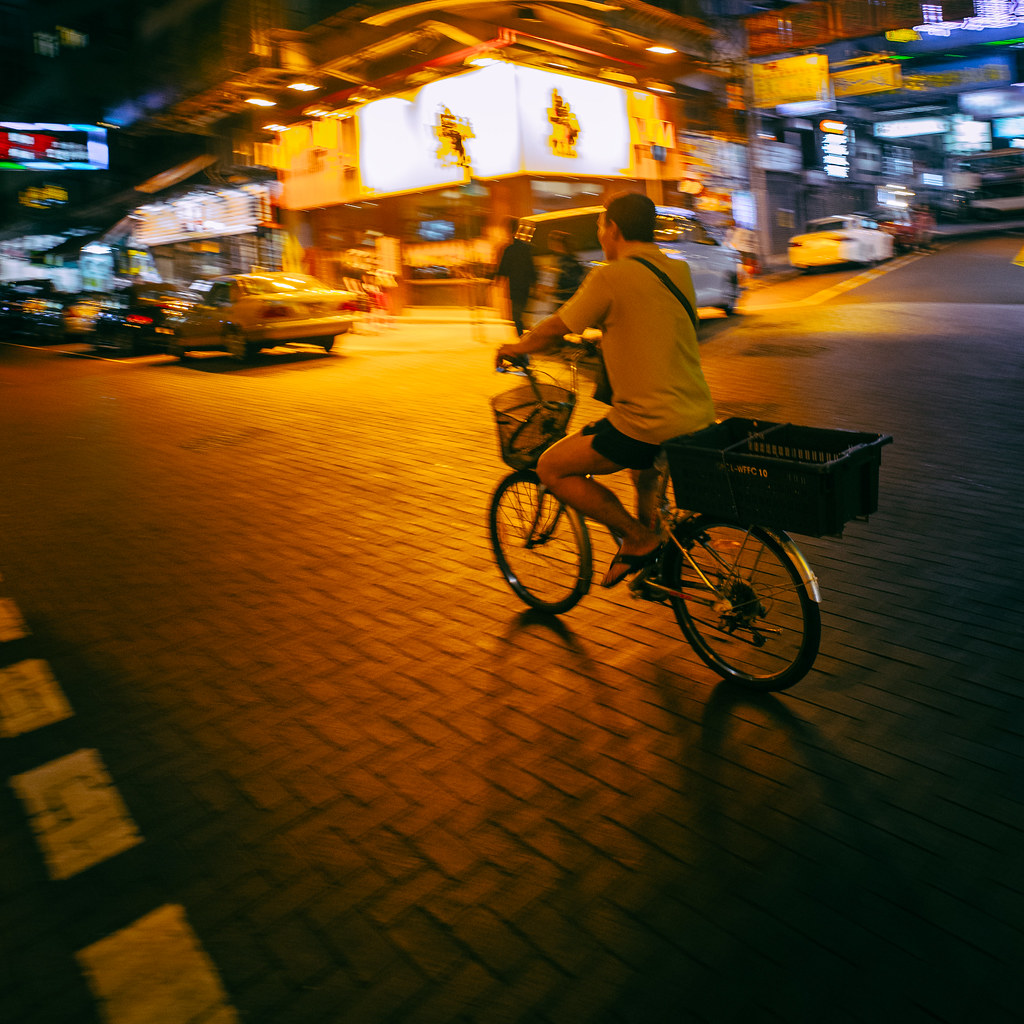 Temple Street Biker