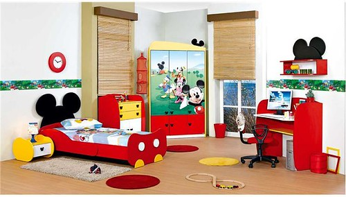 Decoracin de Habitaciones Infantiles de Mickey Mouse Blogicasa