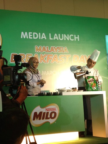 Milo Breakfast Day Media Launch
