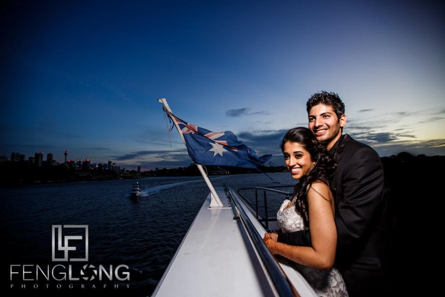 Natasha & Karim's Reception Cruise | Sydney Harbour & Circular Quay | Sydney Destination Indian Wedding Photography