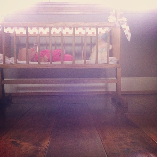 More baby girl fun. // Prompt: #ruleofthirds at #iheartfaces #PicTapGo #havenotshoweredyet #toomuchfun #thirdbabyfirstgirl