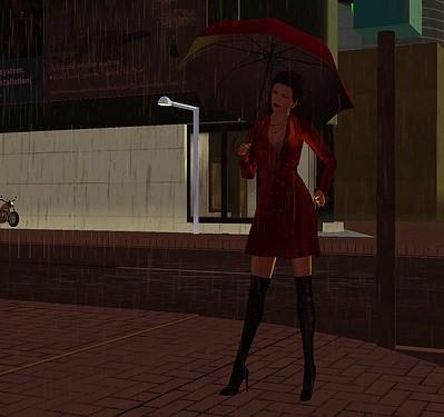 Please don't stop the rain!