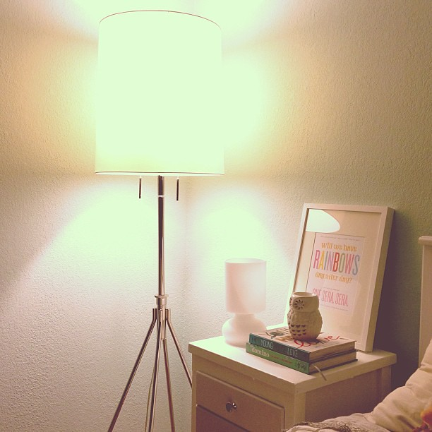 Got a new lamp for the guest room from @westelmroseville today. #lovehome