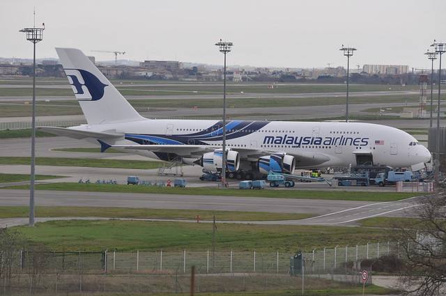 F-WWAV / 9M-MNE Airbus A380-841 MSN094 Malaysia Airlines